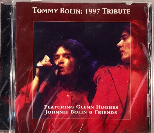 cd tommy bolin: 1997 tribute - importado lacrado