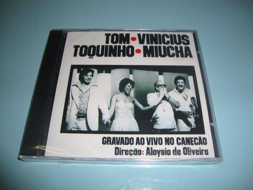 cd tom,vinicius,toquinho e miúcha - ao vivo no canecão-1977.
