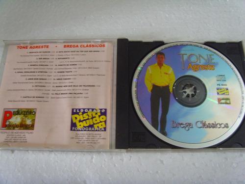 cd tone agreste - brega classicos
