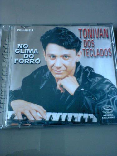 cd tonivan dos teclados vol. 1 no clima do forró