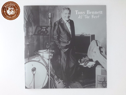 cd tony bennett all the best - ganha capa nova de brinde a9