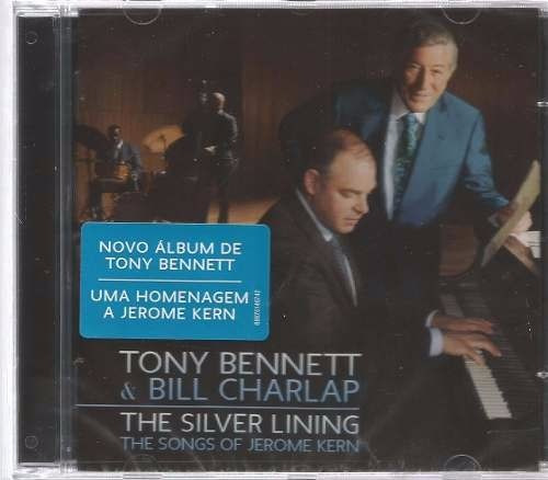 cd tony bennett e bill charlap - the silver lining (lacrado)
