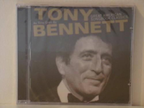 cd - tony bennett - great american songb.clas.(lacrado)