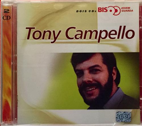cd tony campello - serie bis - duplo novo lacrado