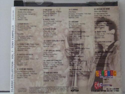 cd - tony campello - sucessos de  (autografado)