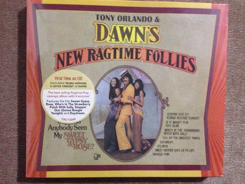cd tony orlando & dawn dawn's new ragtime follies (import)