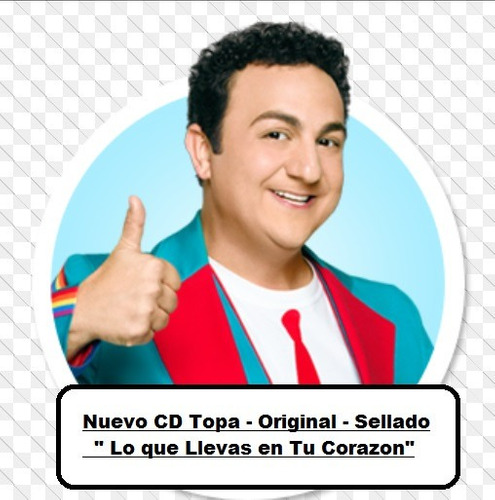 cd topa - album 2016 - lo que llevas en tu corazon- original