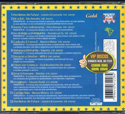 cd toquinho canção dos direitos das crianças igual novo raro