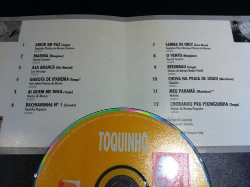 cd toquinho - toco toca - original - raro - frete 10,00