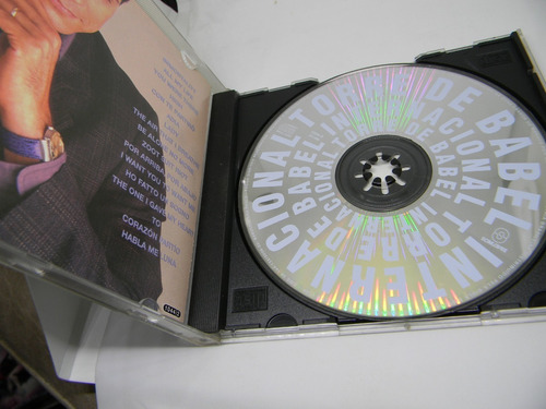 cd - torre de babel - novela - internacional - usado