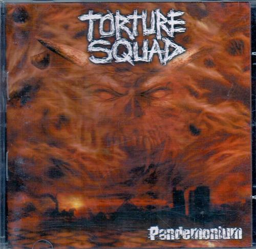 cd torture squad - pandemonium - novo***