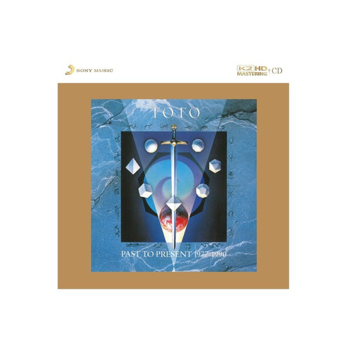 cd toto - past to present  [made in japan]  'raro'