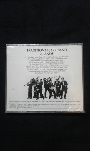 cd tradicional jazz band - 25 anos