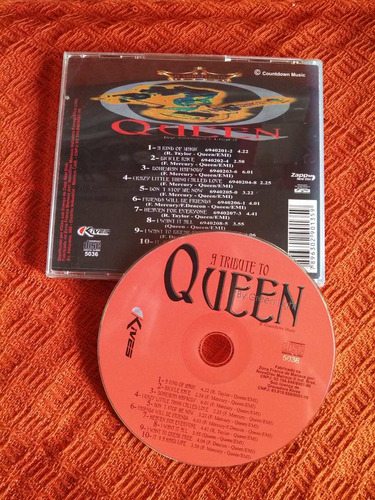 cd tribute to queen  by green light
