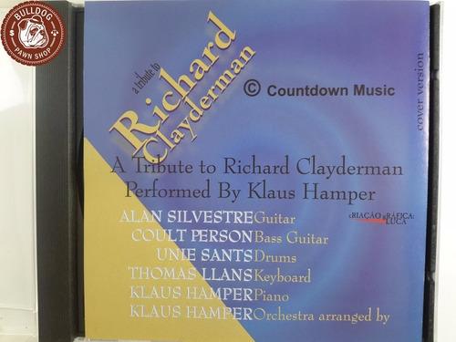 cd - tribute to richard claydermann kla. h - ganha caixa -b7