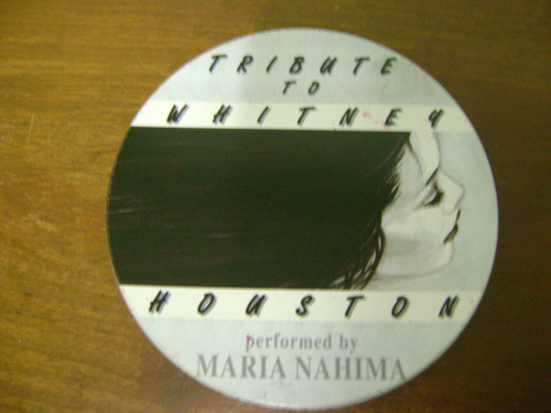 cd tribute to whitney houston performed by maria nahima