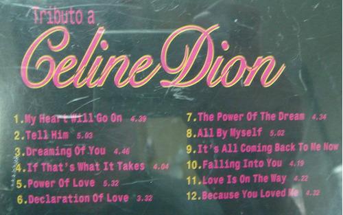 cd   :   tributo a  celine  dion    -   310b60