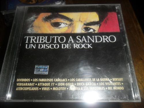 cd tributo a sandro un disco de rock
