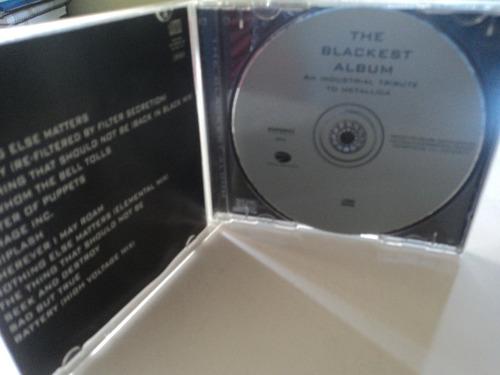 cd-tributo ao metallica-the blackest album-industrial:rock