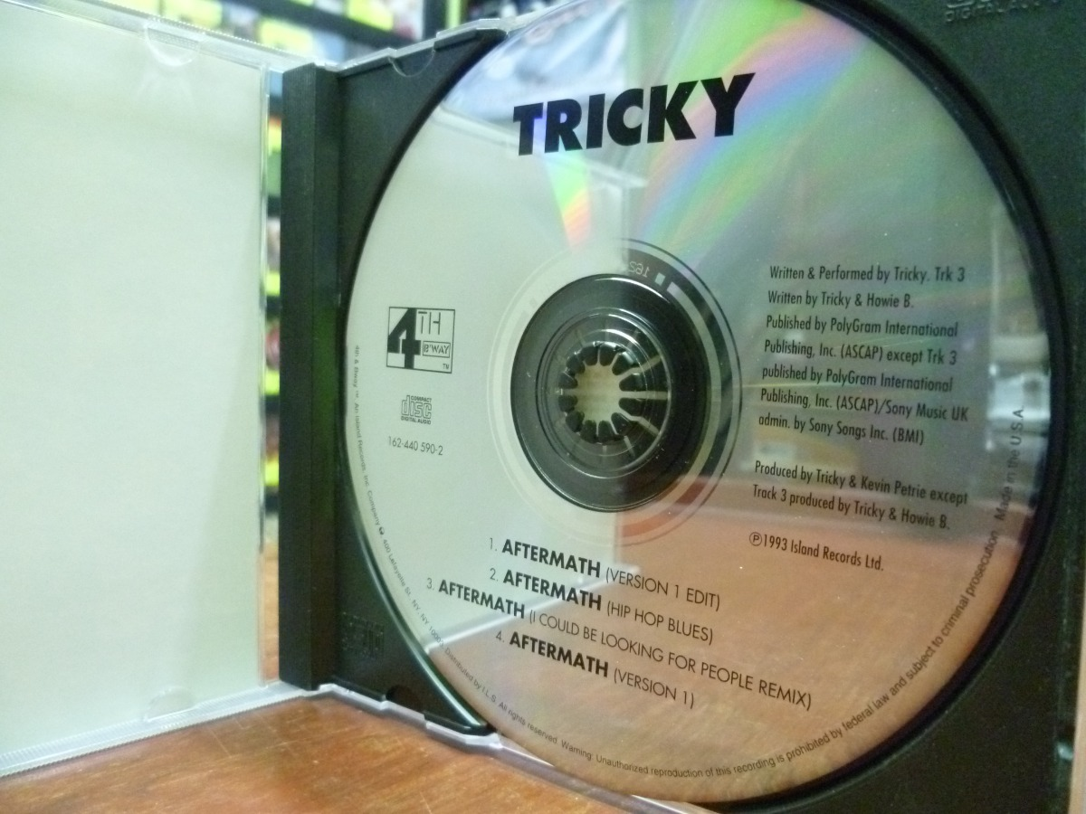Cd Tricky - Aftermath - Maxi Single! Portishead (top Music) - S/ 29,99