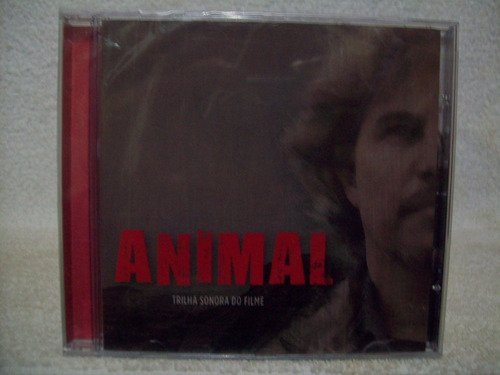 cd trilha sonora do filme animal- lacrado de fábrica