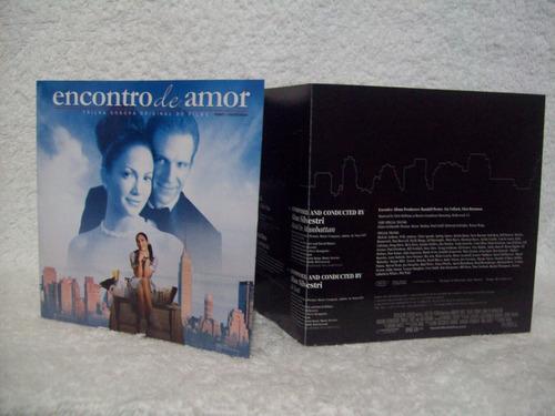 cd trilha sonora do filme encontro de amor