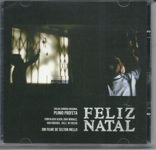 cd trilha sonora  do filme feliz natal plinio profeta
