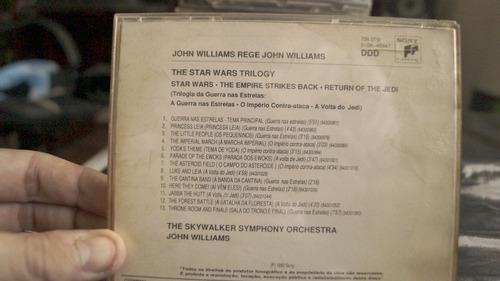 cd trilha sonora guerra nas estrelas (john williams)