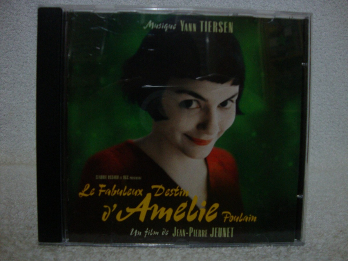 trilha sonora de amelie poulain