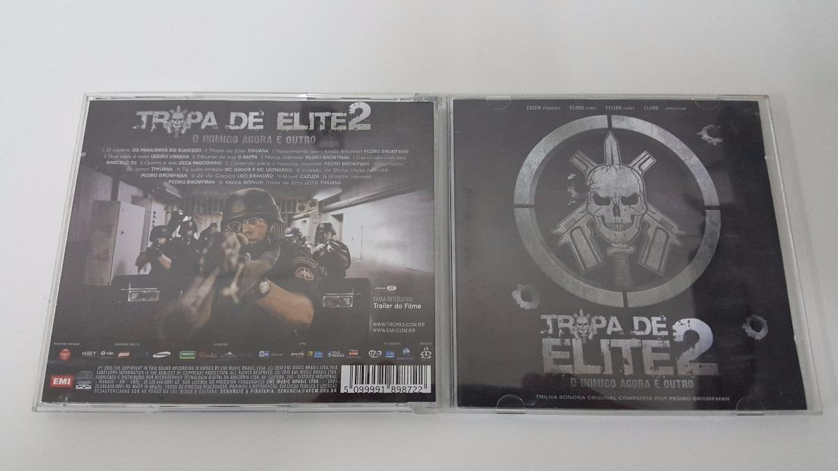 cd trilha sonora tropa de elite 2