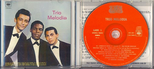 cd trio melodia  trio melodia 1965 + aproveite a vida! 1966