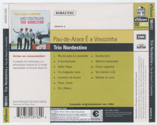 cd trio nordestino - samba bom - zé e maria - multa no coco