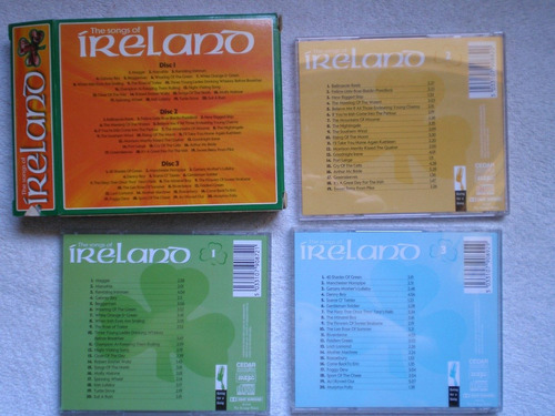 cd triple the songs of ireland by paddy o'connor 59 cancione