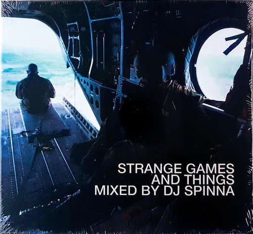 cd triplo - dj spinna - strange games and things - lacrado