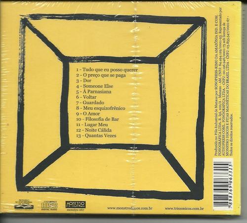 cd trissônicos objeto direto - novo lacrado