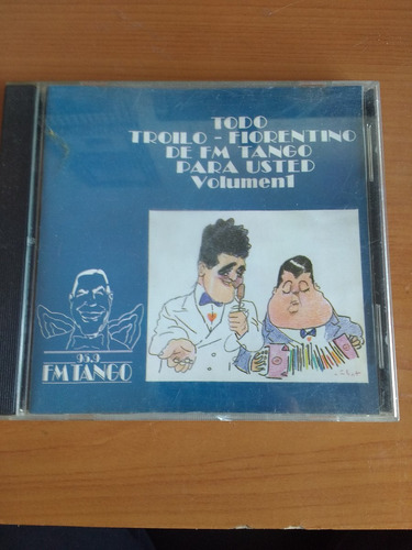 cd  troilo - fiorentino de fm tango para usted  volumen 1