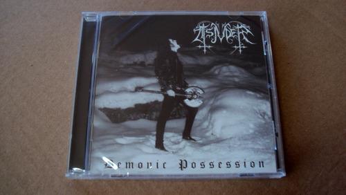 cd tsjuder - demonic possession  - cd europeu novo e lacrado