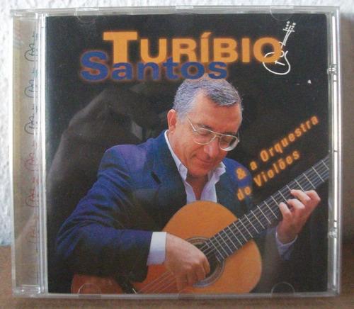 cd turibio santos e orquestra violões villa-lobos gnattali