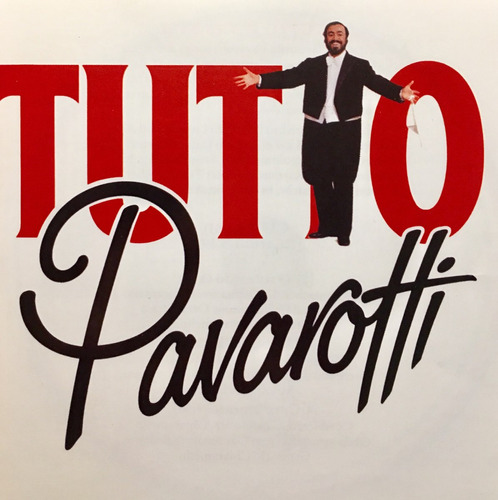 cd tutto pavarotti 2cds luciano pavarotti usado