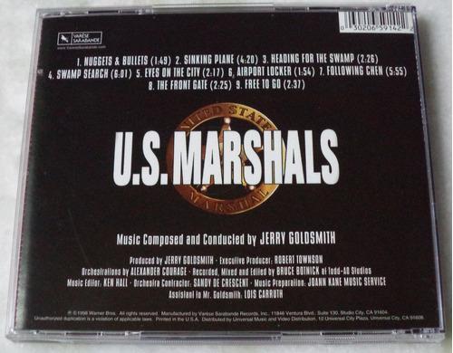 cd  u. s. marshals trilha sonora importada