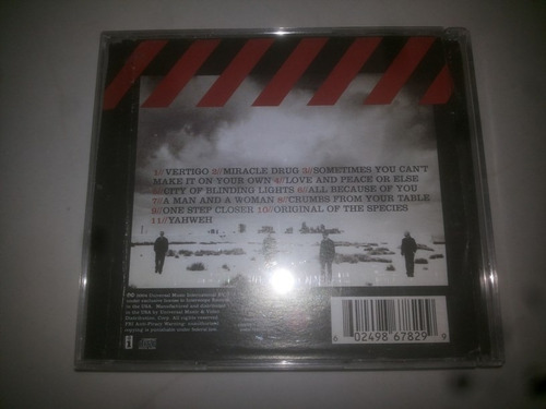 cd u2 how to dismantle an atomic bomb