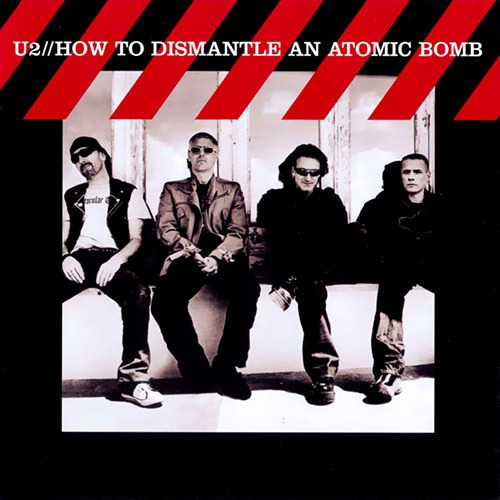cd - u2 - how to dismantle an atomic bomb - lacrado !!