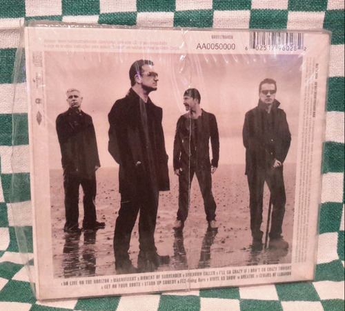cd u2 no line on the horizon ed. limitada pôster e livreto