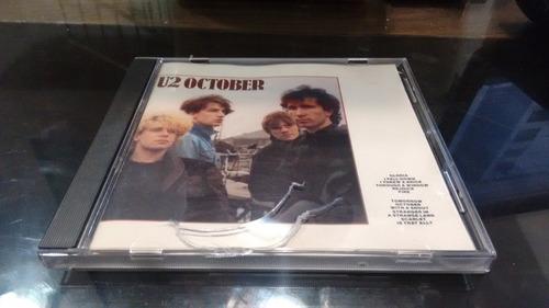 cd u2 october importado en formato cd,excelente titulo