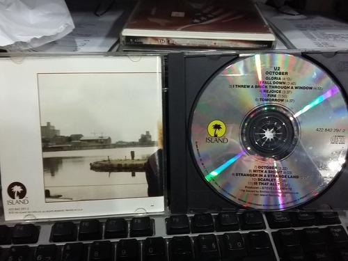 cd - u2 - october (promoção)