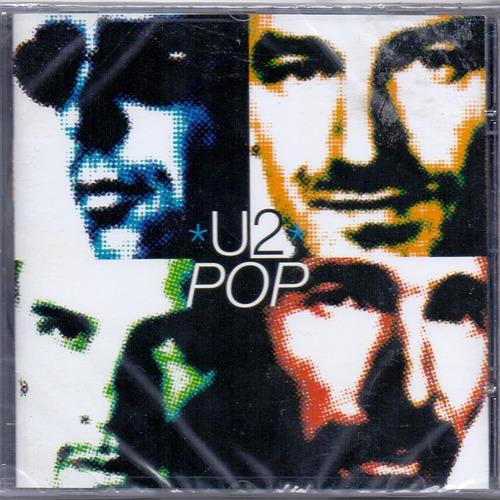 cd u2 - pop - novo***