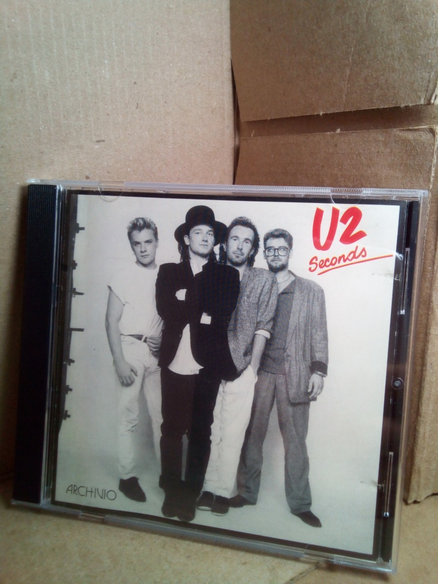 Cd U2 Seconds Importado