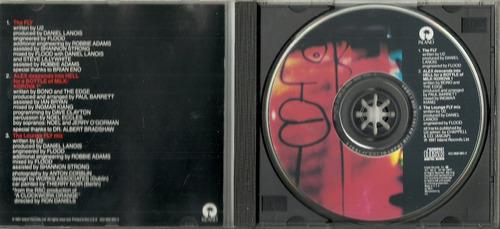 cd u2 - single: the fly - 1991 - importado - 3 faixas