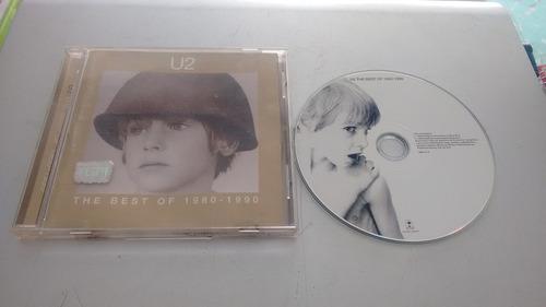 cd u2 the best of 1980-1990 en formato cd,excelente titulo