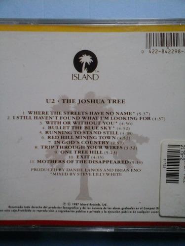 cd u2  the joshua tree excelente estado